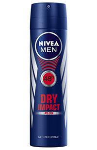 NIVEA DEO DRY IMPACT 150 ML ERKEK