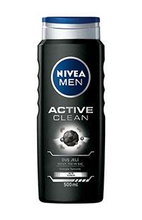 NIVEA DUS SAMP ACTIVE CLEAN 500 ML