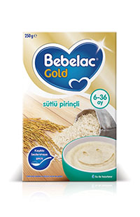 BEBELAC GOLD SUTLU PIRINCLI 250 GR