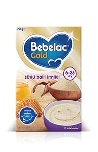 BEBELAC GOLD SUTLU BALLI IRMIKLI 250 GR