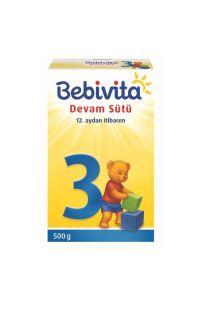 BEBIVITA 3 DEVAM SUTU 500 GR