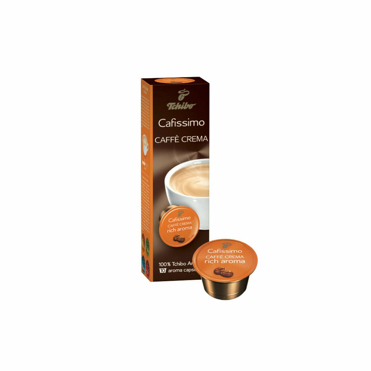 TCHIBO CAFISSIMO CAFFE CREMA RICH AROMALI 10'LU KAPSUL KAHVE