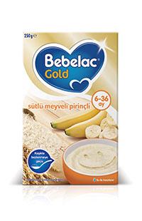 BEBELAC GOLD SUTLU MEYVELI PIRINC 250 GR