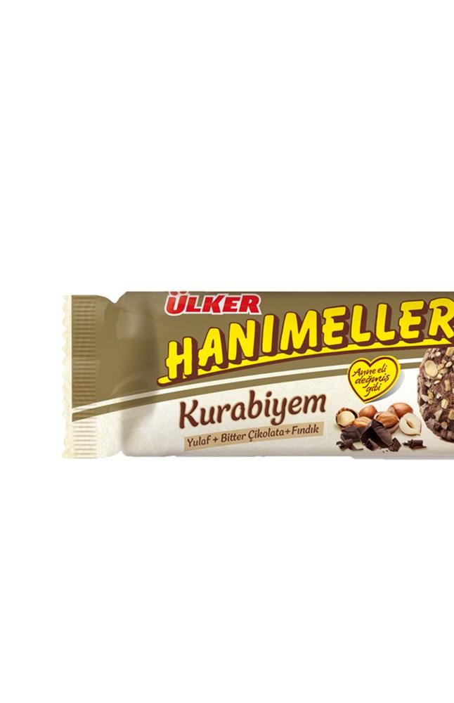 ULKER HANIMELLER KURABIYEM YULAF FINDIK 72 GR