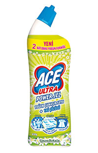 ACE ULTRA POWER JEL LIMON BAHCESI 810 GR