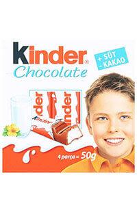KINDER CHOCOLATE 50 GR T.4