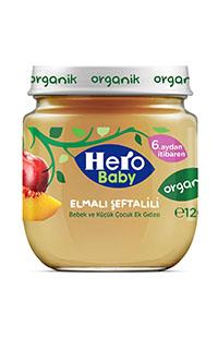 HERO BABY ORGANIK ELMA SEFTALI KAV MAMA 120 GR