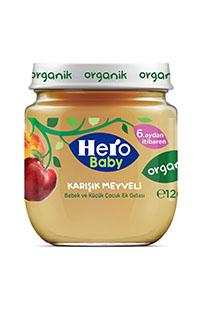 HERO BABY ORGANIK KARISIK MEYVELI KAV MAMA 120