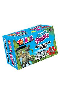 TOYBOX MAGIC PUZZLE HAYVANLAR SERISI