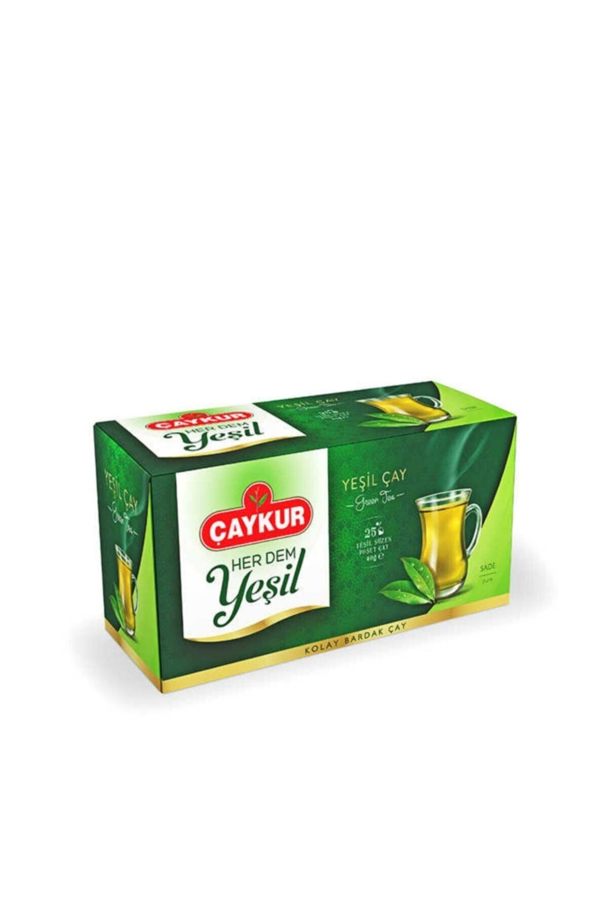 CAYKUR YESIL CAY SUZME SADE POSET 40 GR
