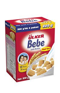 ULKER BEBE BISKUVI 800 GR
