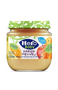 HERO BABY KAV.125 GR KARISIK MEYVELI
