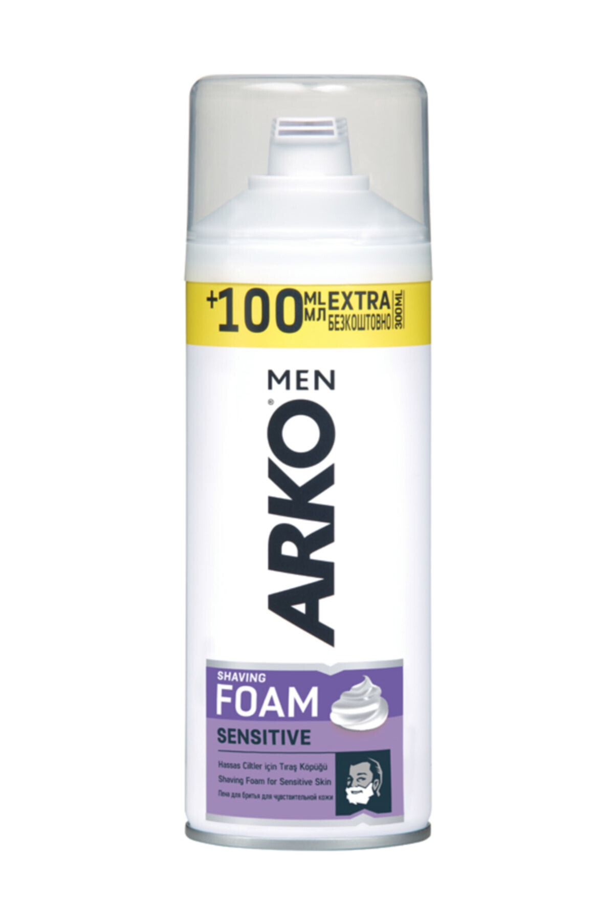 ARKO TIRAS KOPUGU SENSITIVE 300 ML