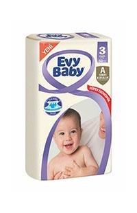 EVY BABY BEBEK BEZI SUPER E. PAKET MIDI 60*LI