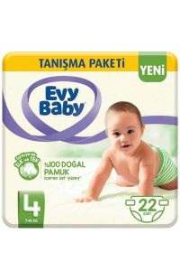 EVY BABY BEBEK BEZI MAXI 22 LU TANISMA PKT