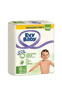 EVY BABY BEBEK BEZ XL  EKO. PKT.20 LI NO:6