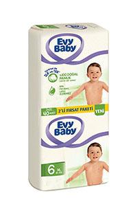 EVY BABY BEBEK BEZI 2 LI PAKET XL 40 LI