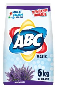 ABC MATIK 6 KG LAVANTA TAZELIGI