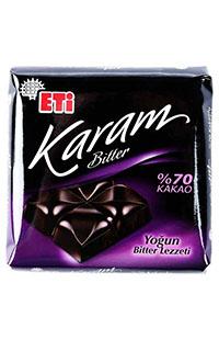 ETI KARAM TABLET %70 BITTER 70 GR