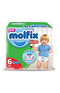 MOLFIX PANTS EXTRA LARGE 26 LI