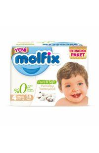 MOLFIX PURE SOFT MAXI EKO 30 LU