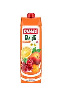 DIMES 1/1 KARISIK MEYVA NEKTARI 1000ML