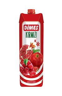 DIMES 1/1 KIRMIZI MEYVELER ICECEK 1000 ML