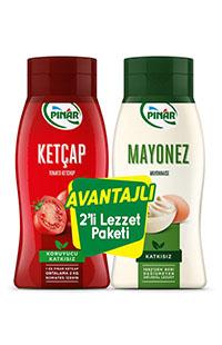 PINAR KETCAP 420 GR+MAYONEZ 350 GR