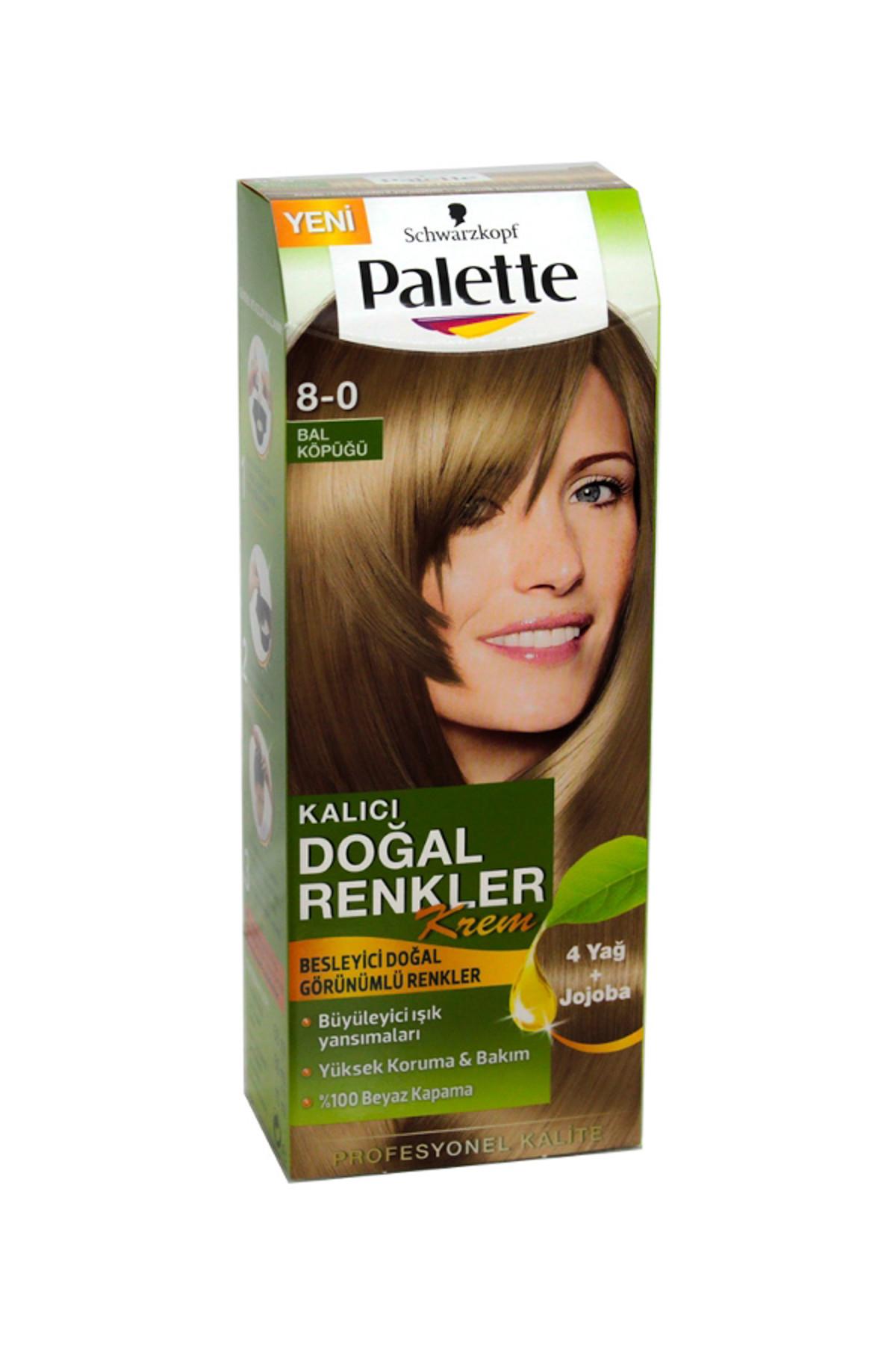 PALETTE DOGAL RENKLER 8-0