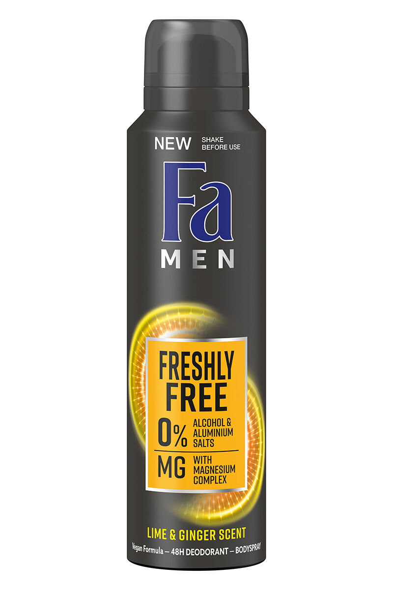 FA MEN DEO SPRAY MINT & BERGAMOT 150 ML