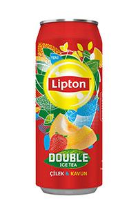 LIPTON DOUBLE ICE TEA 500  ML.KAVUN CILEK