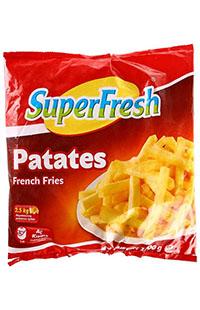 SUPERFRESH PATATES 1000 GR
