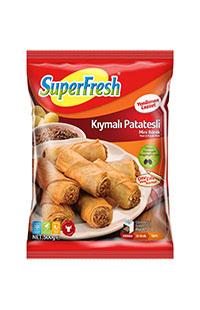 SUPERFRESH MINI BOREK KIYMALI PATATES 500 GR