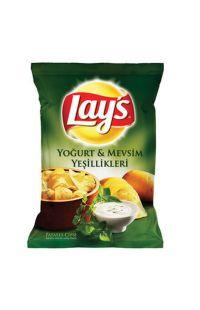 LAYS YOGURT MEVSIM YESILLIKLERI SUPER 104 GR