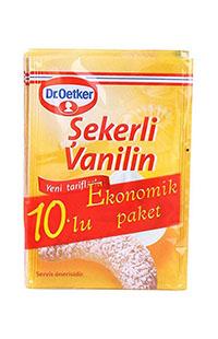 DR OETKER SEKERLI VANILIN-10LU 50 GR