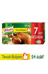 KNORR BULYON  24 LU 12 LT TAVUK 240 GR