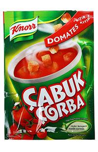 KNORR CABUK CORBA KITIRLI DOMATES 22 GR