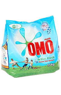 OMOMATIK ACTIVE  FRESH 1,5 KG NATURE