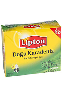 LIPTON DOGU KARADENIZ  BARDAK POSET 100 LU