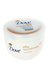 DOVE SILKY BESL.VUC.KREM. 300 ML