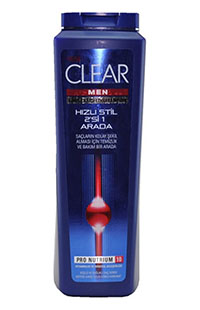CLEAR MEN DUS FERAHLIGI SAMPUAN 550 ML