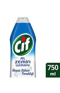 CIF JEL ZEMIN UZMANI BEYAZ SABUN 750 ML