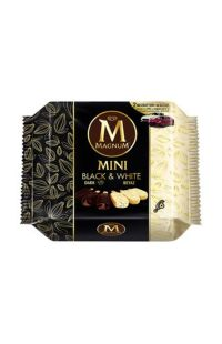 ALGIDA MAG MINI BLACK-WHITE 360 GR