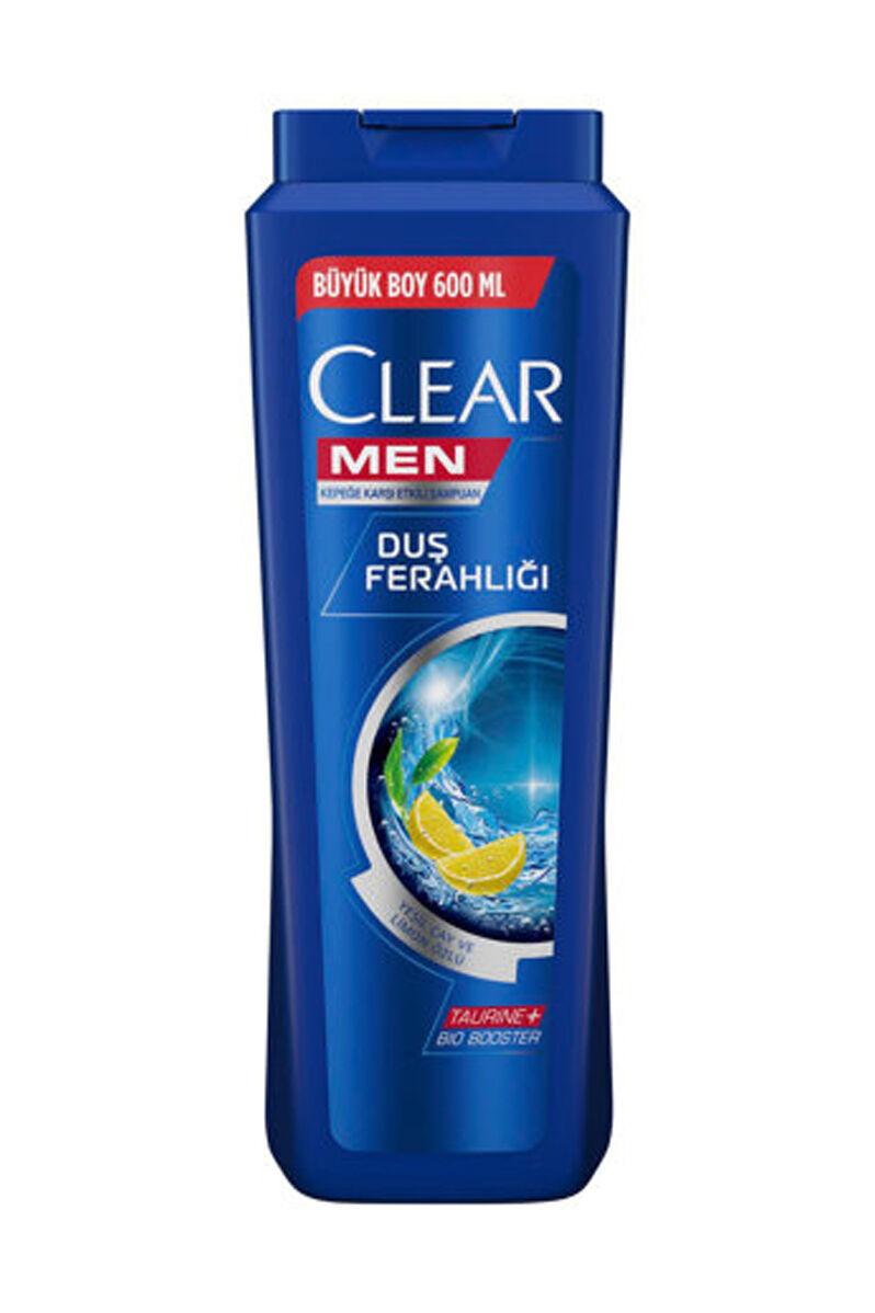 CLEAR MEN YAGLI SAC  SAMPUAN 600 ML