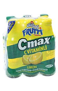 ULUDAG FRUTTI C MAX LIMON 6x200 ML