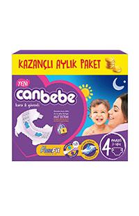 CANBEBE FIRSAT PAKET MAXI 60 LI