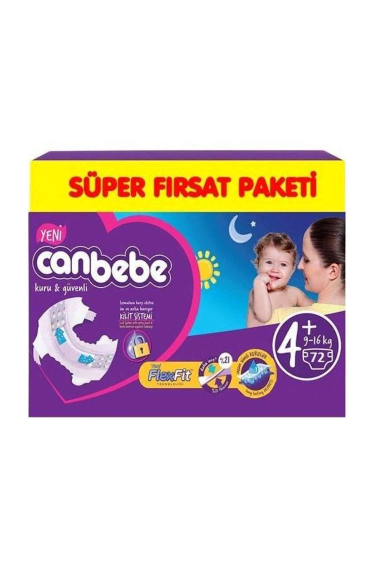 CANBEBE SUPER FIRSAT MAXI PLUS 72