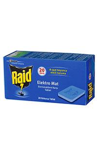 RAID ELECTRO MAT TABLET 20 ADET