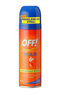 OFF SINEKKOVAR SPREY MAX 100ML/12