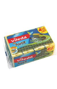 VILEDA POWER DORTLU OLUKLU YESIL SUNGER